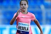 Zuzana Veselá zaběhla svůj rekord a zvítězila v Čokoládové tretře.