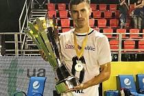 František Hakl se stal mistrem Evropy v malém fotbale.
