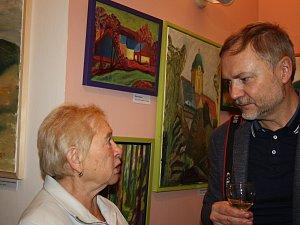 Dagmar Hartmannová si plní malováním svůj celoživotní sen