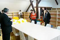 Slavnostní ukončení rekonstrukce poděbradské knihovny