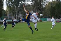 Z fotbalového utkání I.A třídy Bohemia Poděbrady - Divišov (2:1)