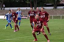 Fotbalisté Poděbrad vyhráli po dlouhé době na svém stadionu, porazili tým Kly 3:0.