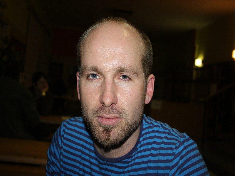 Hlavní organizátor Jakub Macura