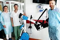 Unikátní přístroj by měl usnadnit rehabilitaci části pacientů.