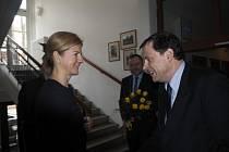 Na návštěvu Poděbrad přijela estonská velvyslankyně.