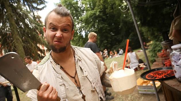 Středověký food festival se v Dětenicích.
