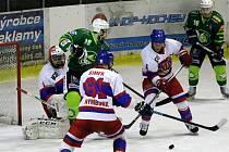 Z utkání druhé hokejové ligy Nymburk - Trutnov (3:2)