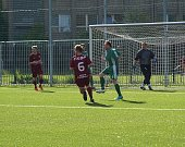 Z fotbalového utkání okresního přeboru Bohemia Poděbrady B - Semice B (1:1)