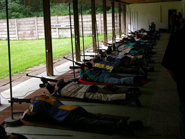 V Poděbradech se sešli sportovní střelci.