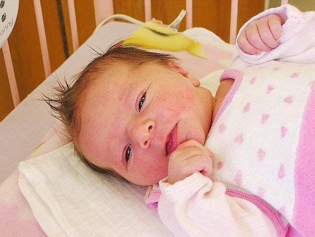 VANESKA DOSTALA SESTŘIČKU. Rodiče Jan a Anita i sestřička Vanesa ze Strak se ve sváteční čtvrtek 28. října dočkali předem očekávané holčičky Editky Žigové. Edita se narodila v 17.29 hodin s mírou 50 cm a váhou 3050 g.