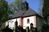 Kostel na vrchu Chotuci.