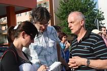 Setkání radních s občany jankovického sídliště