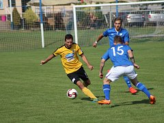 Fotbalisté Vykáně hráli doma nerozhodně s Poříčím 2:2, pak padli na penalty.