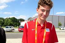 Ondřej Hodboď, devatenáctiletý atlet z Nymburka