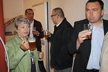 Slavnostní otevření pivovaru v Kounicích