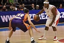 Košíkáři Nymburka nezvládli ani druhé utkání se španělskou Valencií. Na její palubovce prohráli o pouhopouhý jeden bod