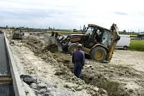 O pozemky v průmyslové zóně na severu města už projevila zájem už třetí firma.