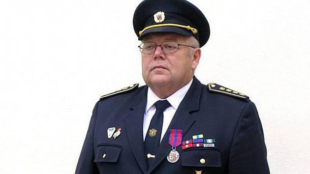 Celoživotní hasič Vladimír Jeník.