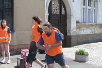 V Sadské se běhalo na náměstí proti kouření
