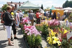 Výstava Květy 2015 v Lysé nad Labem.