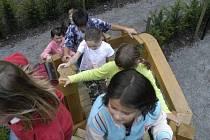Kromě tradičních labyrintů se děti mohou těšit i na Svatomartinské posvícení