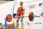 Karel Ruso na evropském šampionátu v Rumunsku.