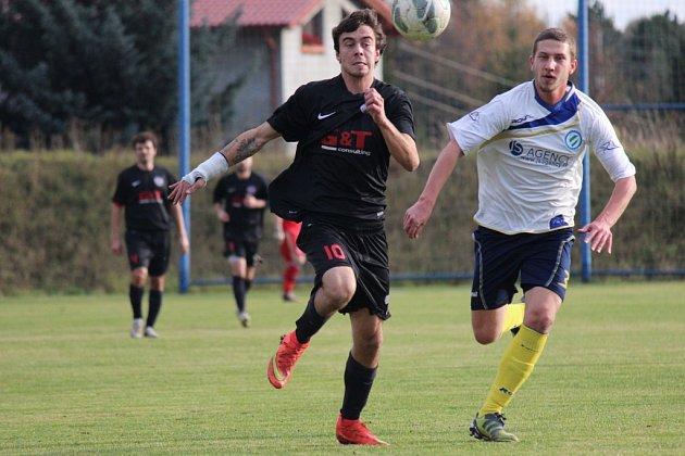 Z fotbalového utkání I.A třídy Klecany - Libice nad Cidlinou (2:6)
