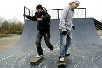 V Milovicích vyrostl nový skatepark