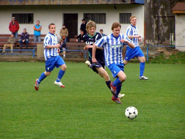Starší dorostenci Poděbrad prohráli s kolínskými fotbalisty čtyřbrankovým rozdílem.