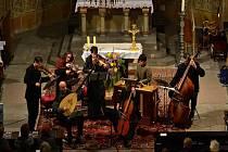 Musica Florea s Voxem nymburgensis v kostele sv. Jiljí