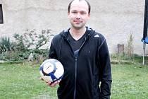 Předseda Okresního fotbalového svazu v Nymburce Radomil Noll.