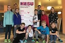 PO BOKU ŠAMPIONKY. Mladí sportovci strávili čtyři dny s mistryní světa Zuzanou Hejnovou v Nymburce.