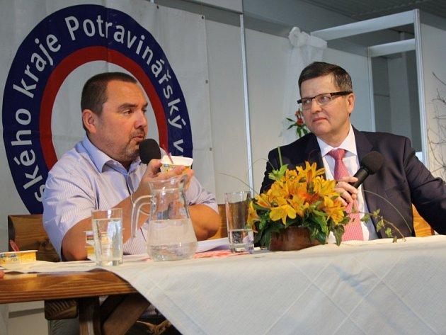 Za Polabské mlékárny převzal cenu generální ředitel Pavel Vybíral