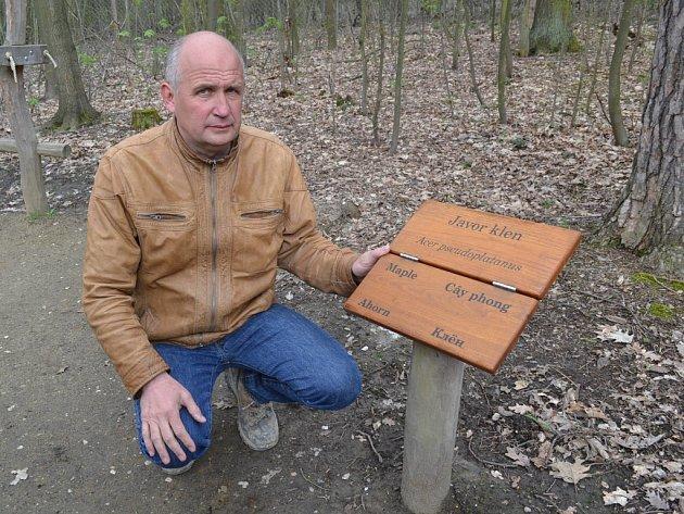 Majitel parku Mirakulum v Milovicích Jiří Antoš.