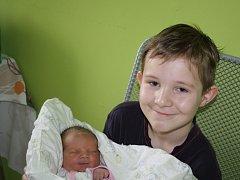 NYMBURÁK MARTÍNEK. Martin NOVÁČEK přibyl na svět 4. března 2016 v 21.45 hodin. Domů si ho pyšně odvezli maminka Soňa a táta Michal. Tam  se už na malého brášku těšil osmiletý Dominik.
