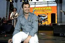 Na milovickém festivalu Artura Kaisera nechyběl ani Jíří Macháček.