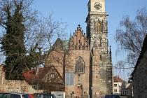 Kostel sv. Jiljí v Nymburce.
