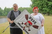 Vodácká svatba Jitky a Michala Stojarových.