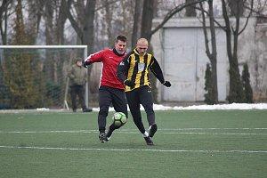 Z přípravného fotbalového utkání Polaban Nymburk - Kratonohy (3:0)