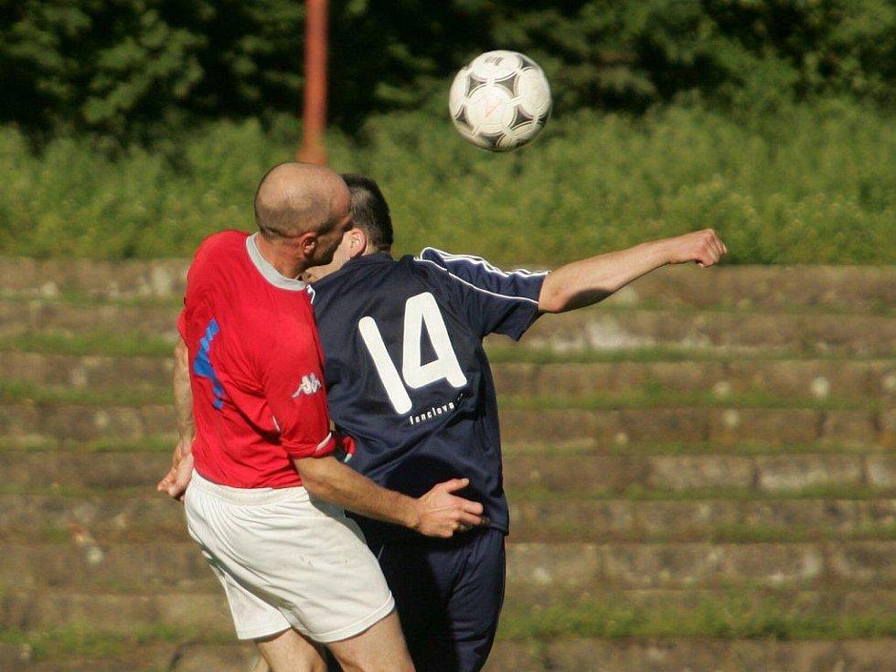 Z fotbalového utkání I.A třídy Poděbrady - Zeleneč (6:1)