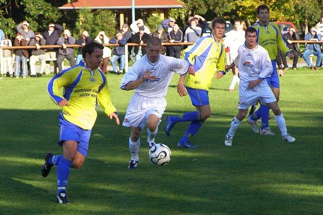 Fotbalisté Sokolče se utkali s Loučení. A vyhráli 4:1