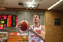 Z basketbalového utkání Kooperativa NBL Nymburk - Ostrava (115:59)
