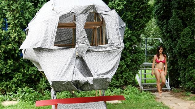 WooDoo Session 2012 prostorové tvorby a velkoformátové malby v Poděbradech