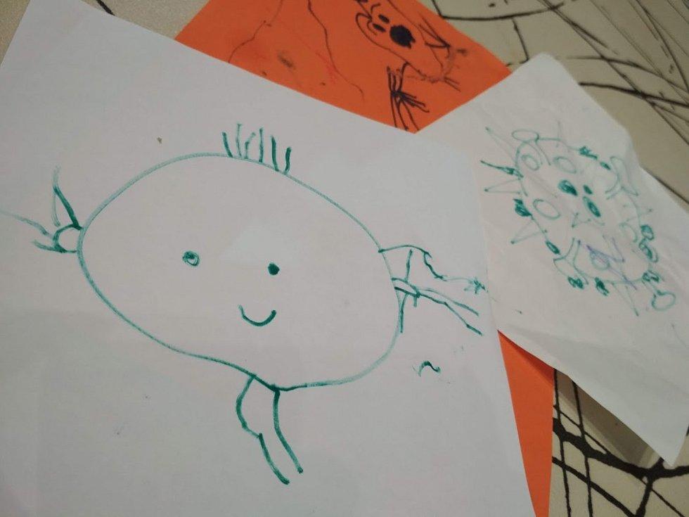 Vir nebo mimozemšťan? Jak to vidí děti?