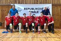 Úspěšný volejbalový tým nymburské Komendy