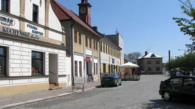 Nové město regionu - Rožďalovice.