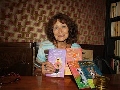 Spisovatelka Otilie K. Grezlová.