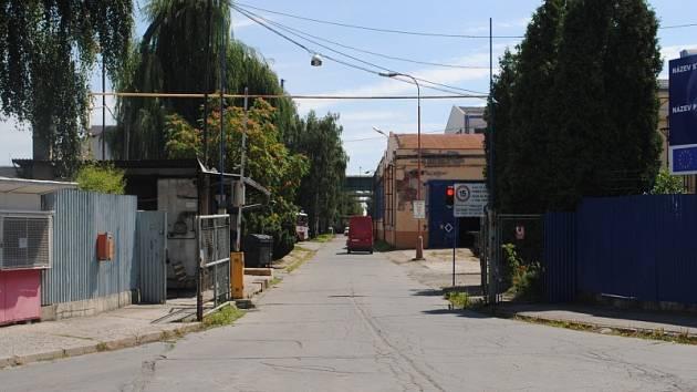 Areál firmy Legios, bývalé ŽOS