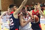 Z basketbalového utkání Kooperativa NBL Nymburk - Brno (116:70)