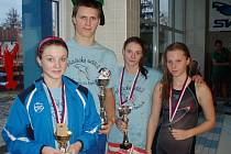 Plavci Lokomotivy Nymburk získali cenné kovy v neratovickém bazénu